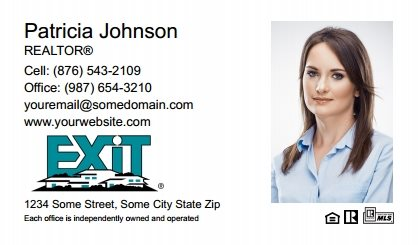 Exit Real Estate Canada Business Card Magnets EREC-BCM-008