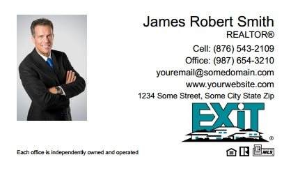 Exit Real Estate Canada Business Card Magnets EREC-BCM-009