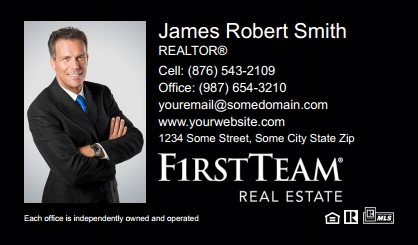 First Team Real Estate Business Card Magnets FTRE-BCM-001