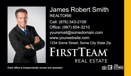 First Team Real Estate Business Card Magnets FTRE-BCM-002