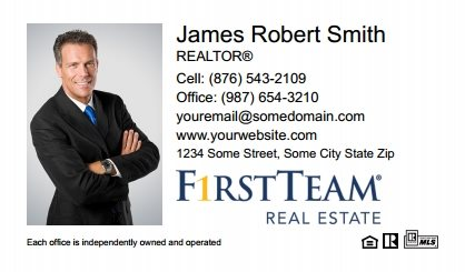 First Team Real Estate Business Card Magnets FTRE-BCM-003