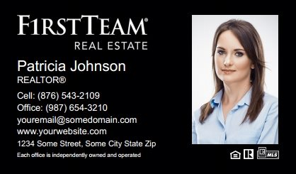 First Team Real Estate Business Card Magnets FTRE-BCM-004