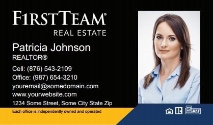 First Team Real Estate Business Card Magnets FTRE-BCM-005