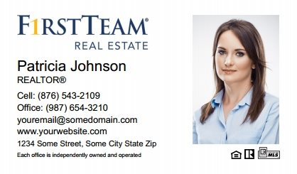 First Team Real Estate Business Card Magnets FTRE-BCM-006
