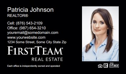 First Team Real Estate Business Card Magnets FTRE-BCM-007