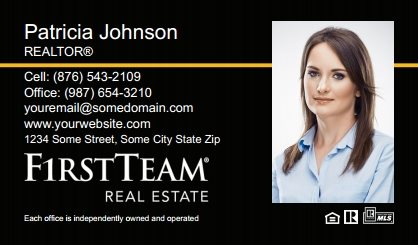First Team Real Estate Business Card Magnets FTRE-BCM-008