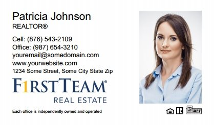 First Team Real Estate Business Card Magnets FTRE-BCM-009