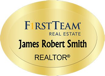 First Team Real Estate Name Badges - Stationery, Design and