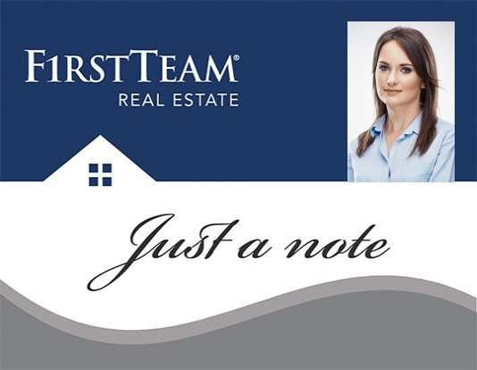 First Team Real Estate Note Cards FTRE-NC-007