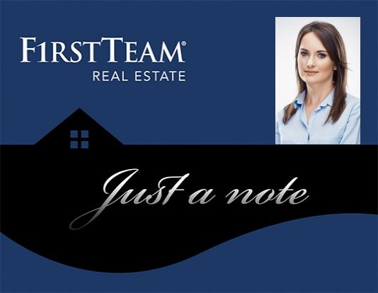 First Team Real Estate Note Cards FTRE-NC-009
