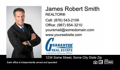 Guarantee Real Estate Digital Business Cards GRE-EBC-005