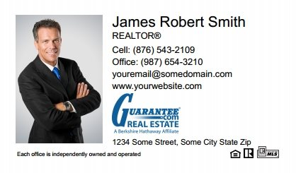 Guarantee Real Estate Digital Business Cards GRE-EBC-006