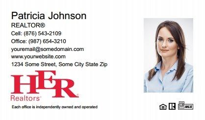 Her realtors business cards templates designs and online printing her realtors business cards hr bc 018 colourmoves