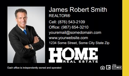 Home Real Estate Digital Business Cards HRE-EBC-002