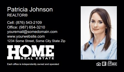 Home Real Estate Digital Business Cards HRE-EBC-007