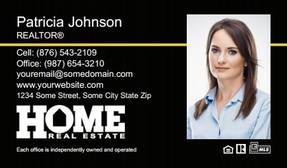 Home Real Estate Digital Business Cards HRE-EBC-008