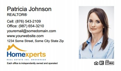 Homeexperts Canada Business Card Labels HEC-BCL-004