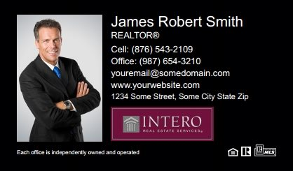 Intero Real Estate Business Cards IRES-BC-001