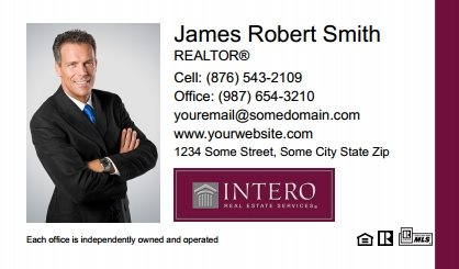 Intero Real Estate Business Cards IRES-BC-002