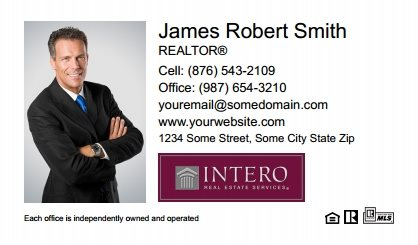 Intero Real Estate Business Cards IRES-BC-003