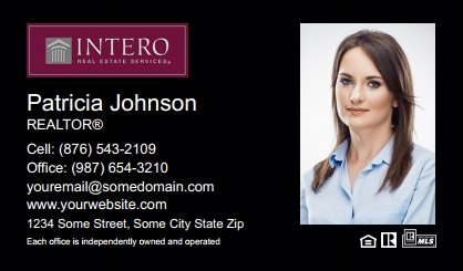 Intero Real Estate Business Cards IRES-BC-004