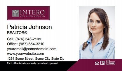 Intero Real Estate Business Cards IRES-BC-005
