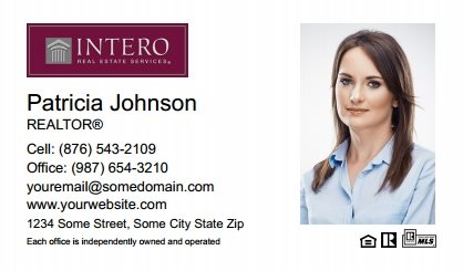 Intero Real Estate Business Cards IRES-BC-006