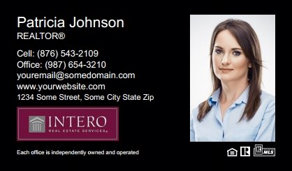 Intero Real Estate Business Cards IRES-BC-007