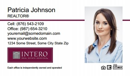 Intero Real Estate Business Cards IRES-BC-008