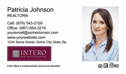 Intero Real Estate Business Cards IRES-BC-009
