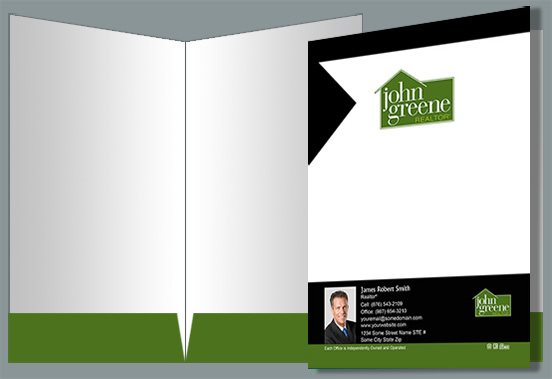 John Greene Realtor Presentation Folders JGR-PF-001