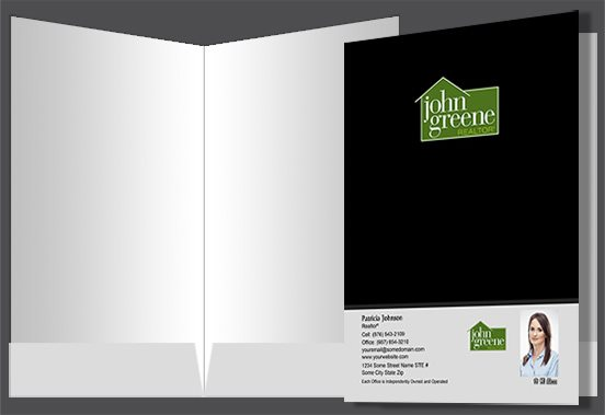 John Greene Realtor Presentation Folders JGR-PF-003