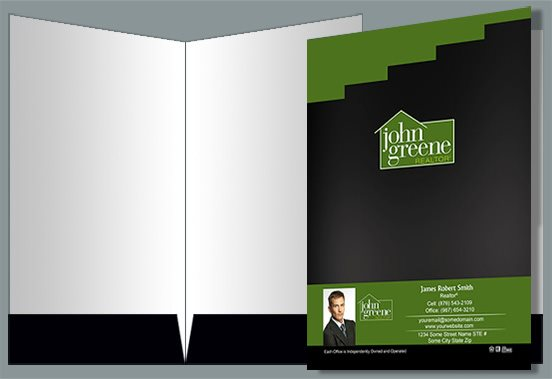 John Greene Realtor Presentation Folders JGR-PF-005