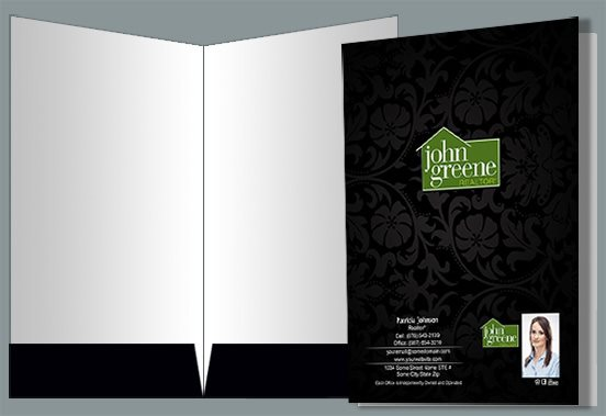 John Greene Realtor Presentation Folders JGR-PF-007