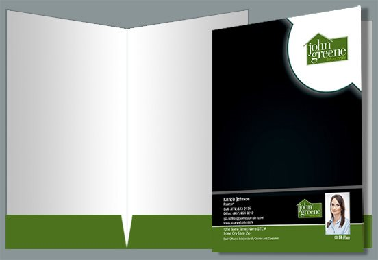 John Greene Realtor Presentation Folders JGR-PF-009