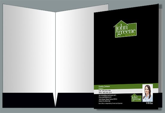 John Greene Realtor Presentation Folders JGR-PF-011