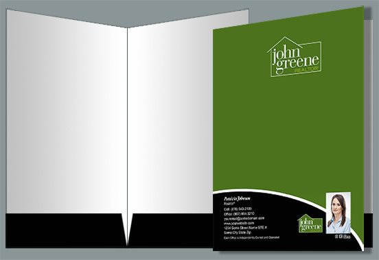 John Greene Realtor Presentation Folders JGR-PF-013