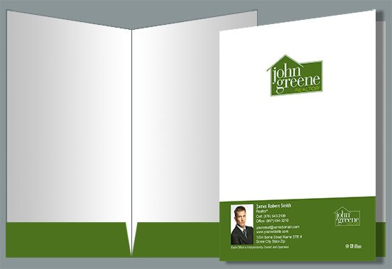 John Greene Realtor Presentation Folders JGR-PF-015