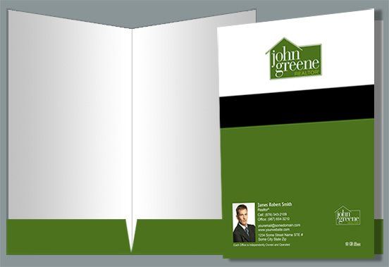 John Greene Realtor Presentation Folders JGR-PF-017