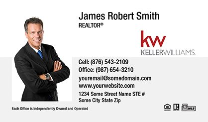 Keller williams business cards templates designs and online keller williams business cards kw bc 001 flashek Image collections