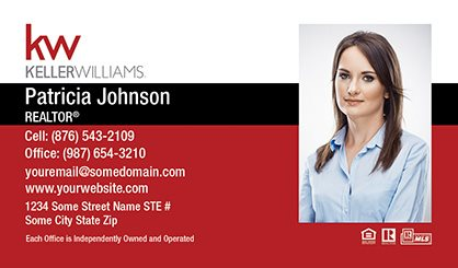 Sure factor keller williams business cards kw bc 004 colourmoves