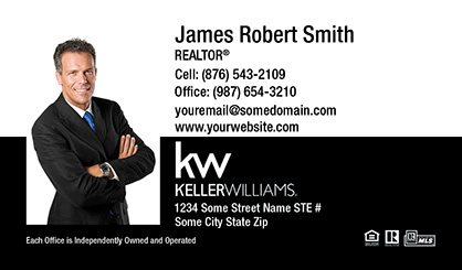 Keller williams realty business cards templates printing and keller williams business cards kw bc 005 flashek Image collections