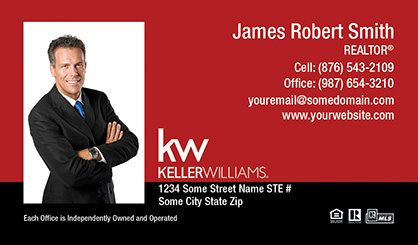 Keller williams business cards templates designs and online keller williams business cards kw bc 007 pronofoot35fo Gallery