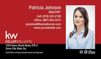 Keller williams business cards templates designs and online keller williams business cards kw bc 008 pronofoot35fo Gallery