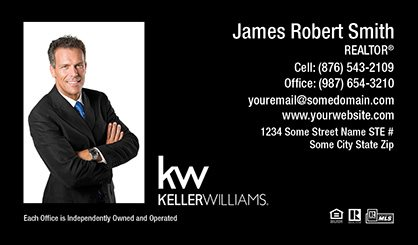 Keller Williams Canada Business Card Magnets KWC-BCM-009
