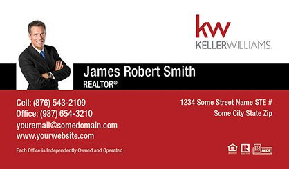Keller williams business cards template kw bc 027 surefactor keller williams business card compact with small photo cheaphphosting Choice Image