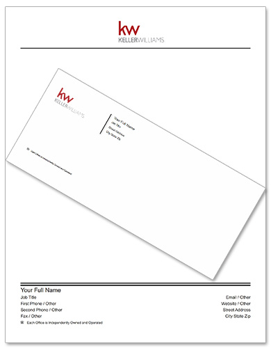 Keller Williams Stationery Bundle KW-SB-002