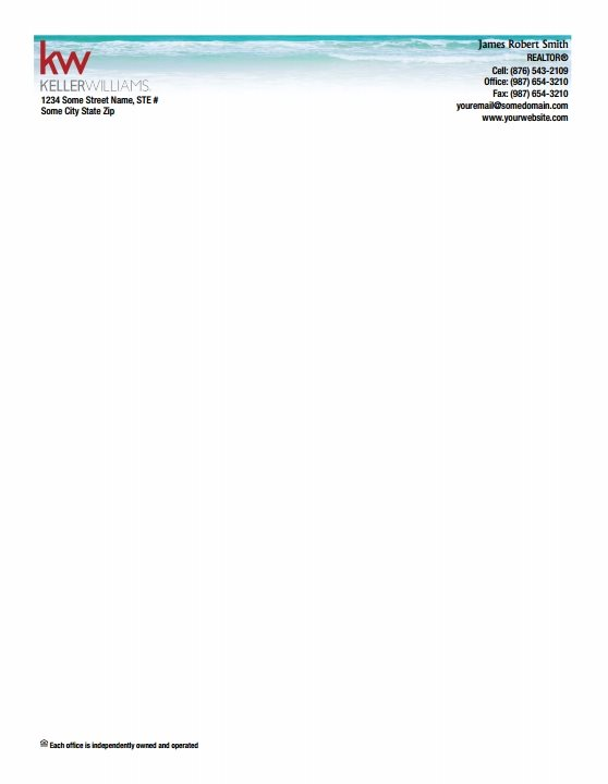 Keller Williams Letterheads KW LH 047