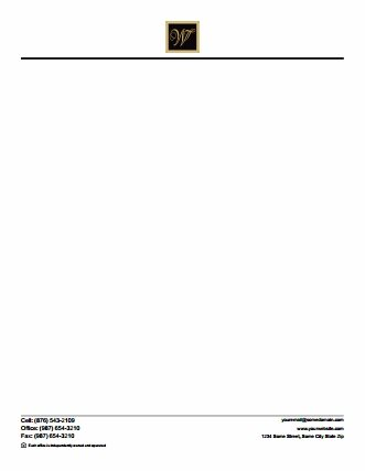 William Davis Realty Letterheads WDR-LH-003