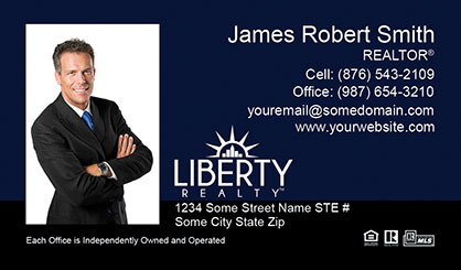 LIberty-Realty-Business-Card-Core-With-Full-Photo-TH54-P1-L3-D3-Blue-Black